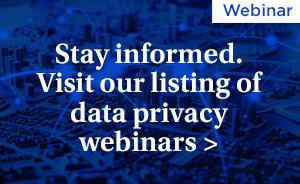 Data Privacy Webinar
